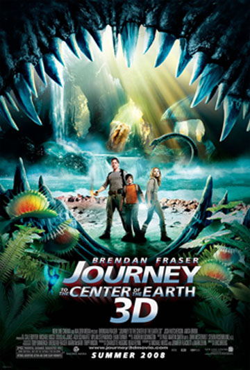 journey to the center of the earth book. Journey movie poster